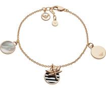 Armband 'eg3373221' gold / perlweiß