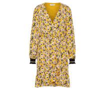 Minikleid gelb / schwarz