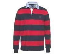 Rugbyshirt navy / rot
