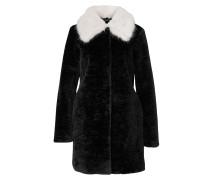 Mantel schwarz / weiß