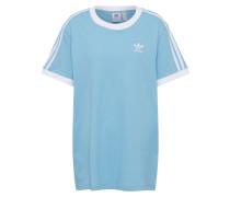 T-Shirt '3 Stripes' hellblau