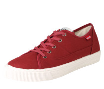 Canvas-Sneaker 'Malibu' bordeaux