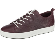Sneakers 'Soft 8' aubergine / dunkelrot