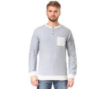 'Grazie' Sweatshirt hellblau