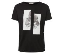 Shirt grau / schwarz