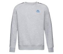 Sweatshirt 'authentic Carl' graumeliert