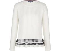 Pullover 'valeska' schwarz / weiß