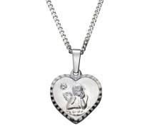 Halsschmuck: Halskette »Herz mit Schutzengel«