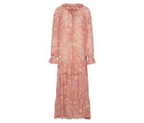 Kleid 'Feeling Groovy' rot / weiß