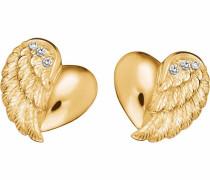 Paar Ohrstecker 'Herzflügel Ere-Lilheartwing-Stg'