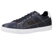 Sneaker navy / neonorange / weiß
