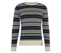 Pullover 'Jaquard Round Neck Knit'