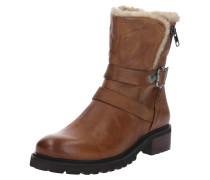 Leder-Boots 'Liam' beige / braun