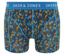 Boxershorts 'jachelmut' blau / orange