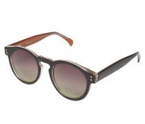 Sonnenbrille 'clement' apricot / schwarz