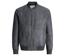 Klassische Jacke dunkelgrau