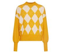 Pullover 'beril' goldgelb