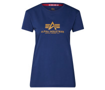 Shirt 'New Basic T Wmn' navy