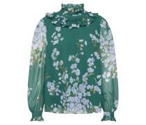 Bluse 'johsie' grün / weiß