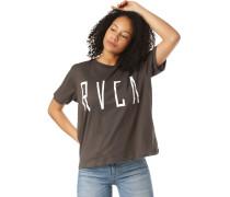 T-Shirt 'Stilt' braun