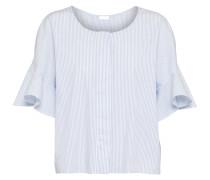 Bluse 'mory' blau / weiß