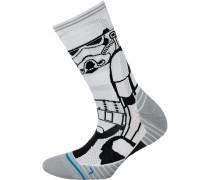 'Run Storm Trooper Crew' Laufsocken