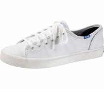 Sneaker 'Kickstart Leather Basic' weiß