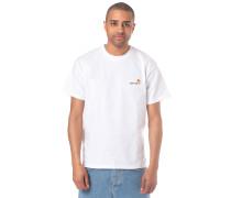 American Script T-Shirt weiß