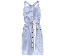 Kleid Aloja blau / weiß
