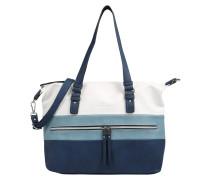 Handtasche 'marit' blau / weiß