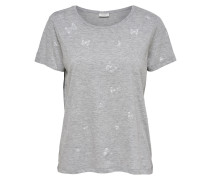 T-Shirt grau / graumeliert