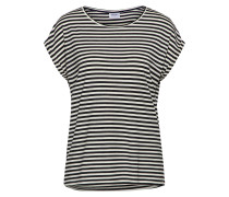 T Shirt creme / schwarz