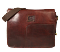 Messenger Bag 'Tocco' aus Leder braun
