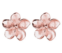 Ohrringe 'Frangipani Blüte' rosegold