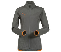 Jacke Middagstind grau / orange