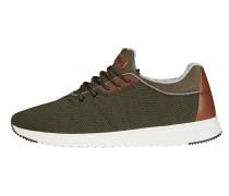Sneaker braun / oliv