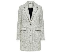 Mantel weißmeliert
