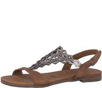 Sandale 'Mandala' braun