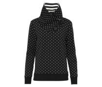 Sweatshirt 'nadine' schwarz / weiß