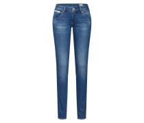 Slim-Fit-Jeans 'Touch' blue denim