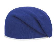 Mütze blau / silber