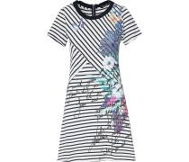 Kleid mischfarben / schwarz / weiß