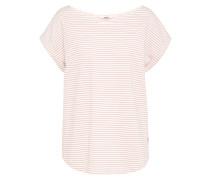 Shirt 'Bell Stripe' pink / weiß