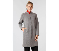 Eleganter Mantel mit geradem Schnitt