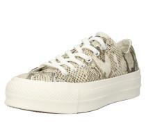 Sneaker 'platform' beige / weiß