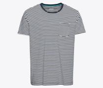 T-Shirt 'sg-088Ee2K002' navy / weiß