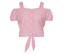 Top 'onlNICOLEN' pink / weiß