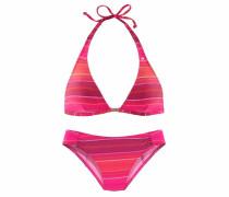 Triangel-Bikini beere / pink