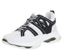 Sneaker 'maxxim' weiß / schwarz