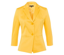 Blazer 'CO-Sateen' gelb